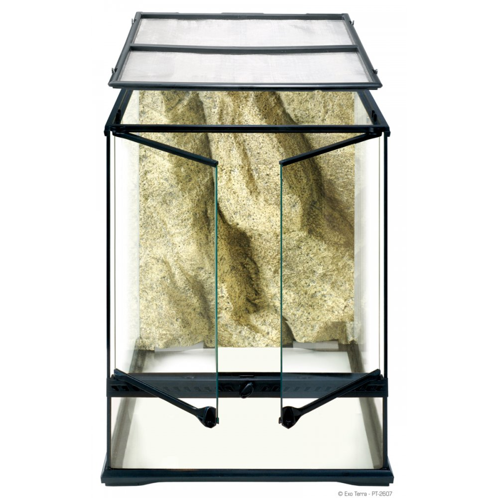 hagen exo terra glass terrarium 45x45x60cm feedem. Black Bedroom Furniture Sets. Home Design Ideas