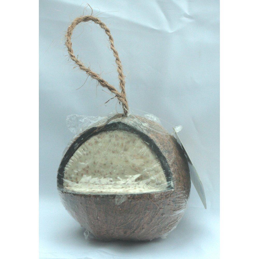 Buy walter harrison whole coconut high energy suet feeder for Whole coconut bird feeders