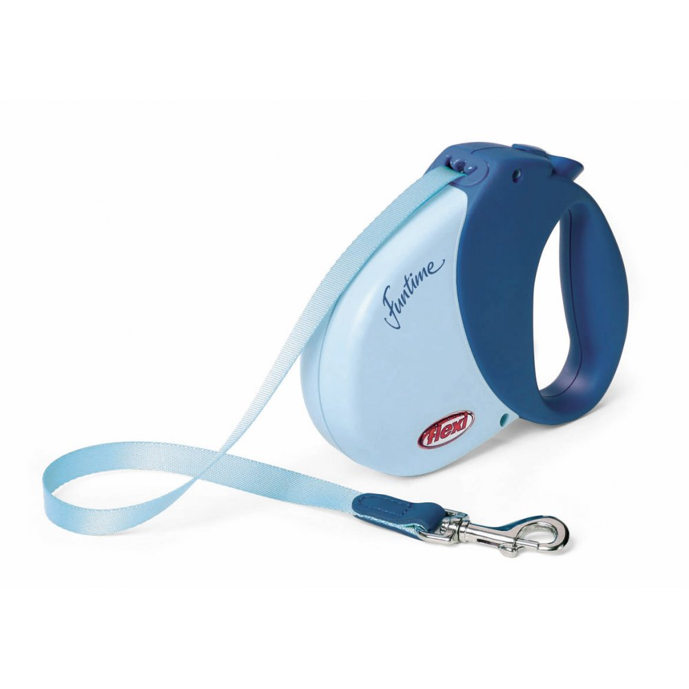Buy Flexi Funtime Medium Tape Dog Lead 5m Long Blue