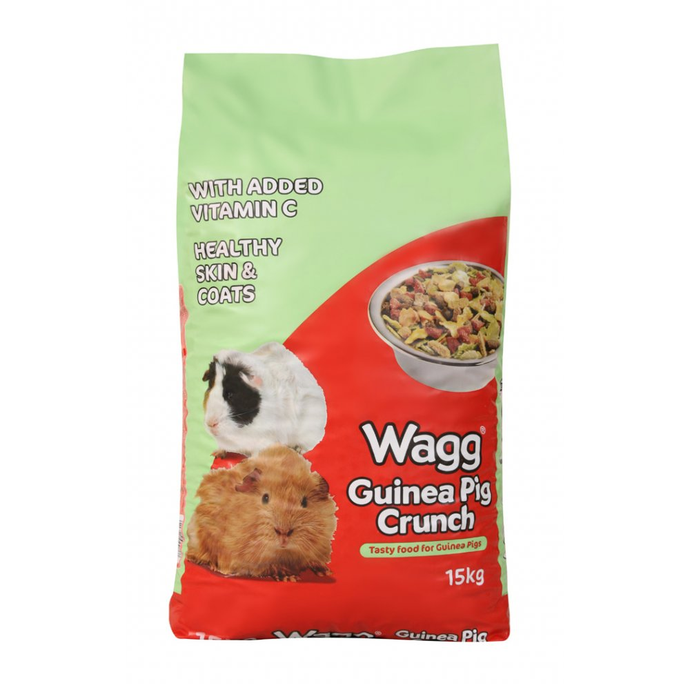 Wagg Foods Complete Guinea Pig Crunch 15kg