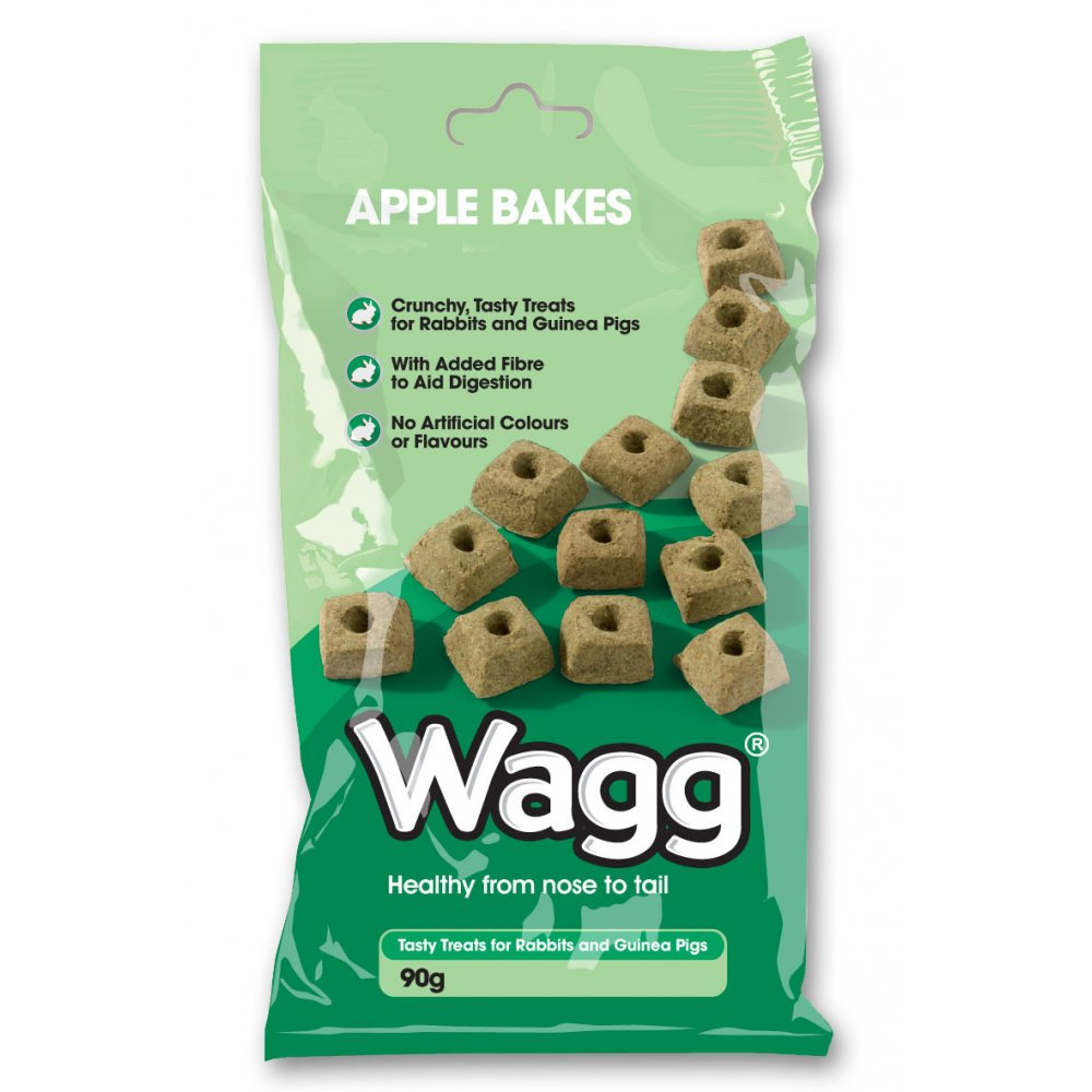 Wagg Foods Small Animal Apple Bakes Treat 90gm