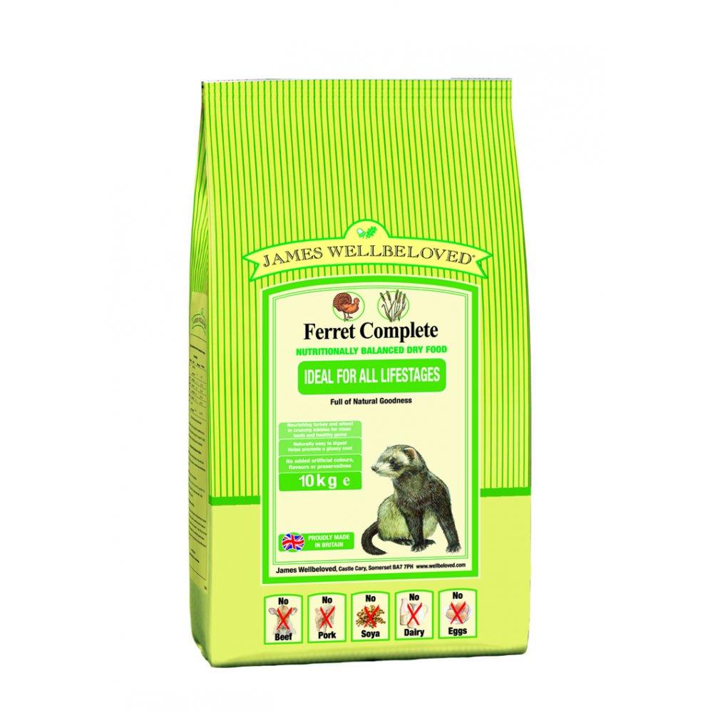 James Wellbeloved Complete Ferret Food 10kg