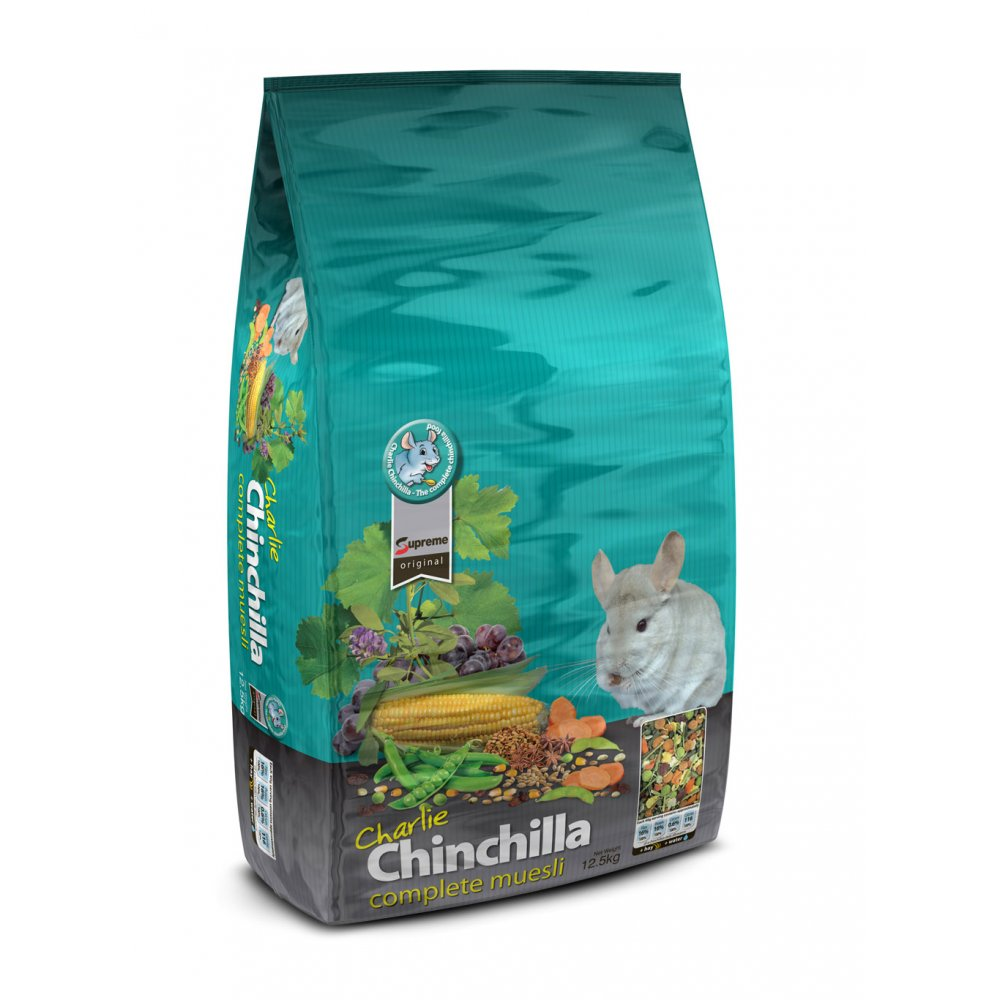 Supreme charlie chinchilla complete food feedem for Cuisines completes
