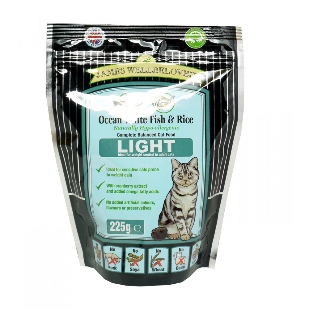 James Wellbeloved Light Cat Food - Fish & Rice