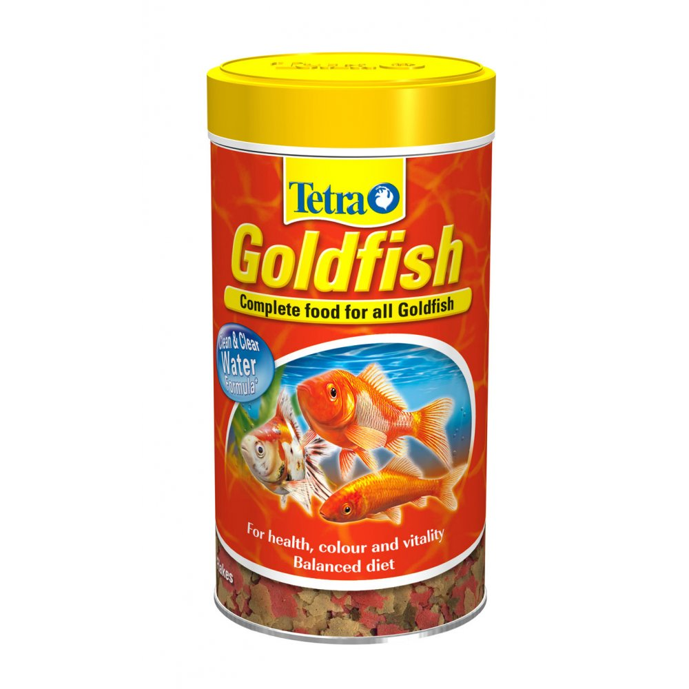 buy tetra goldfish complete flake fish food 200gm