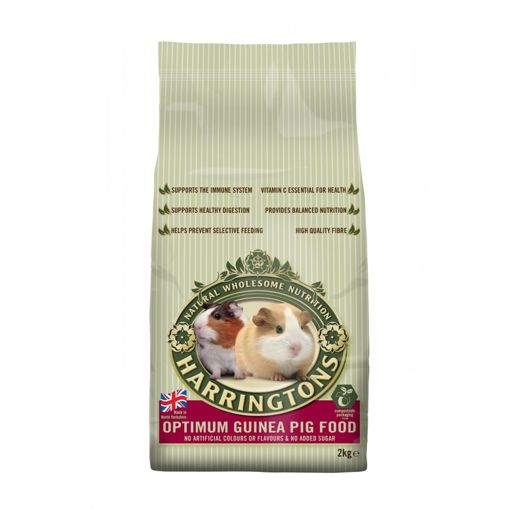 Harringtons Optimum Complete Guinea Pig Food 2kg