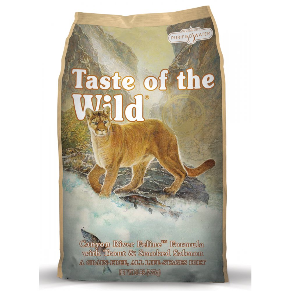 Taste of the Wild Adult Cat Food Rocky Mountain Trout & Smoked Salmon 2.27kg