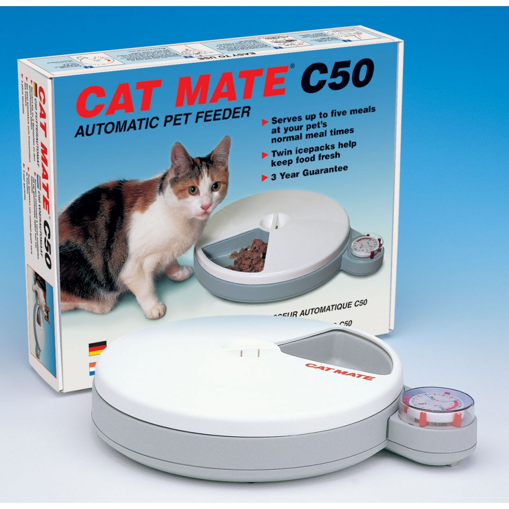 Buy Pet Mate Cat Mate C50 Automatic Cat Feeder