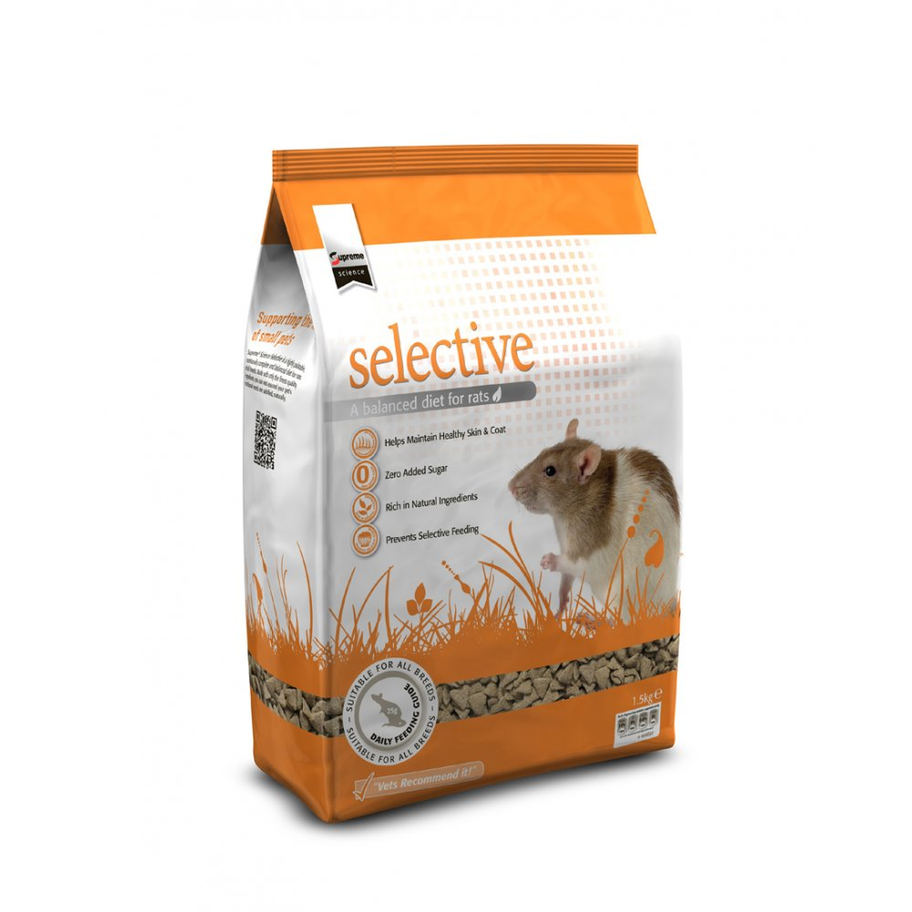Supreme Selective Complete Rat Food 1.5kg