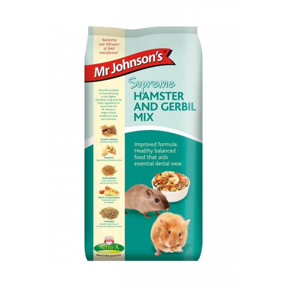 Mr Johnsons Mr Johnsons Supreme Hamster & Gerbil Mix 900gm