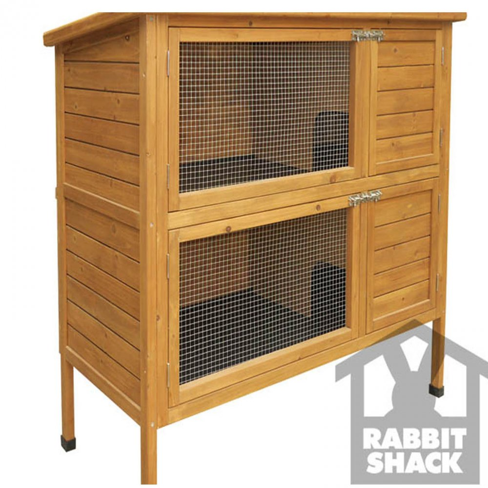 Buy Rabbit Shack Flat Pack Rabbit Hutch with Extended ...