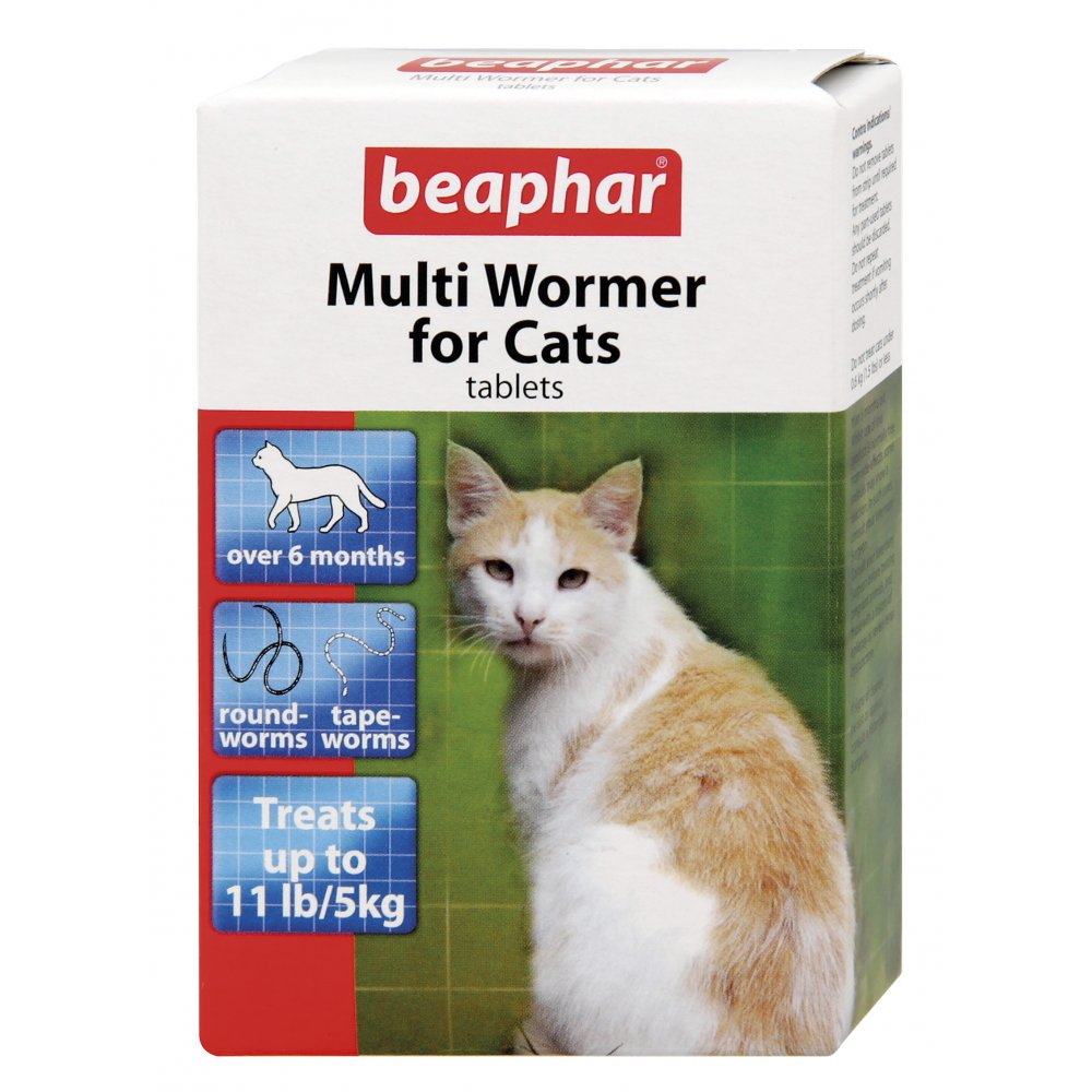 Beaphar Multiwormer For Cats - 12 Tablet Pack