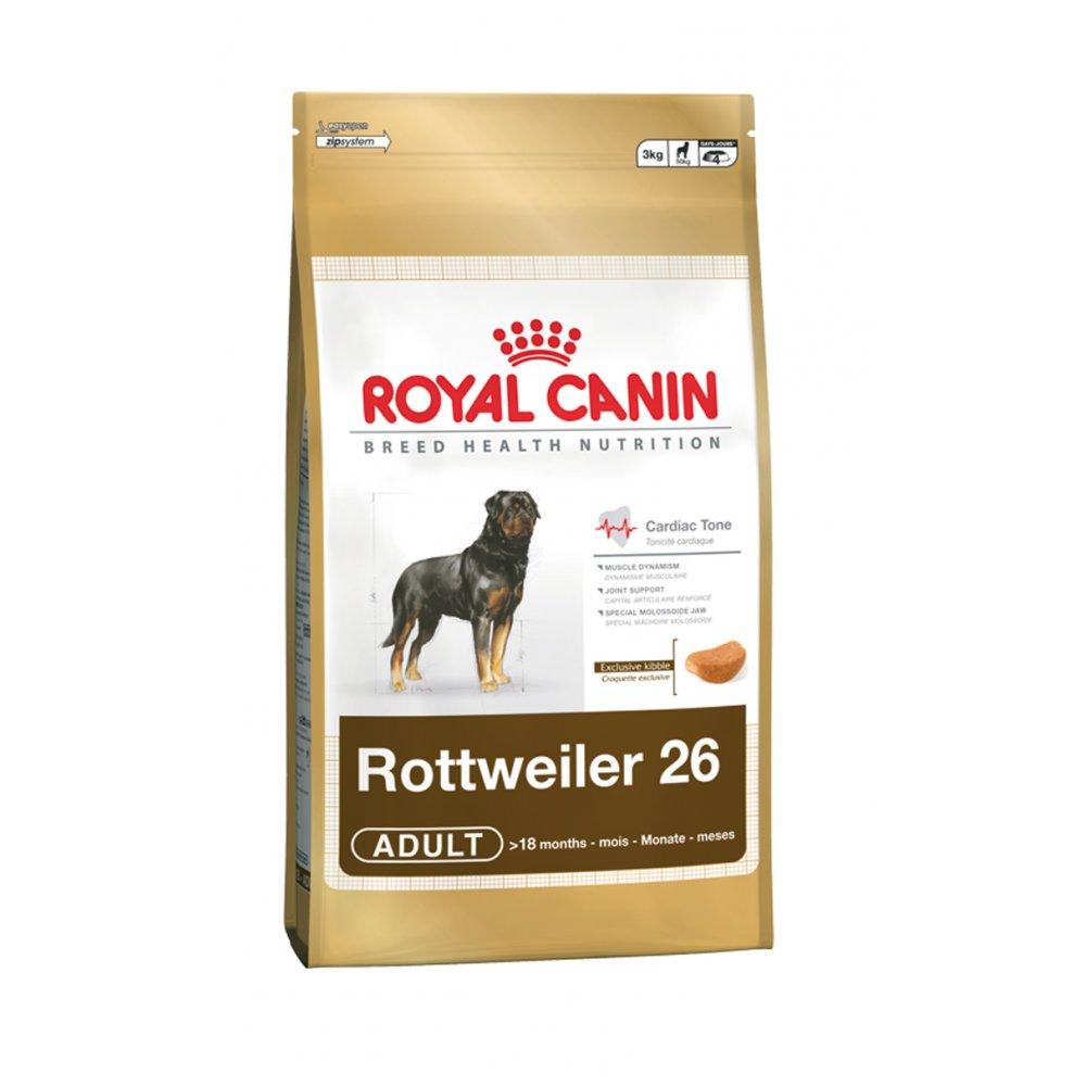 royal canin adult rottweiler complete dog food 3kg feedem. Black Bedroom Furniture Sets. Home Design Ideas
