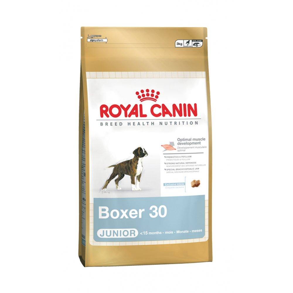 royal canin boxer puppy junior 30 3kg. Black Bedroom Furniture Sets. Home Design Ideas