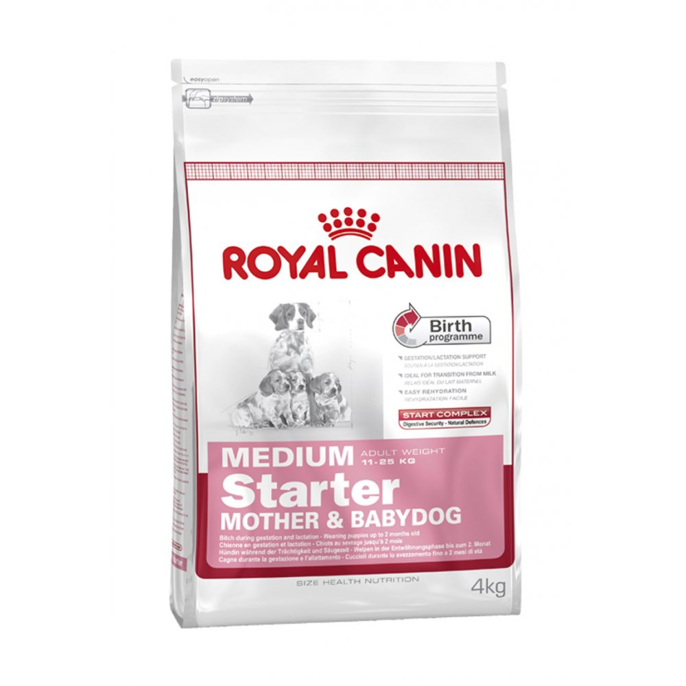 royal canin dog medium starter mother babydog 12kg feedem. Black Bedroom Furniture Sets. Home Design Ideas