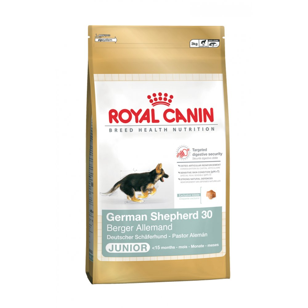 buy royal canin german shepherd junior 30 dog food 12kg. Black Bedroom Furniture Sets. Home Design Ideas