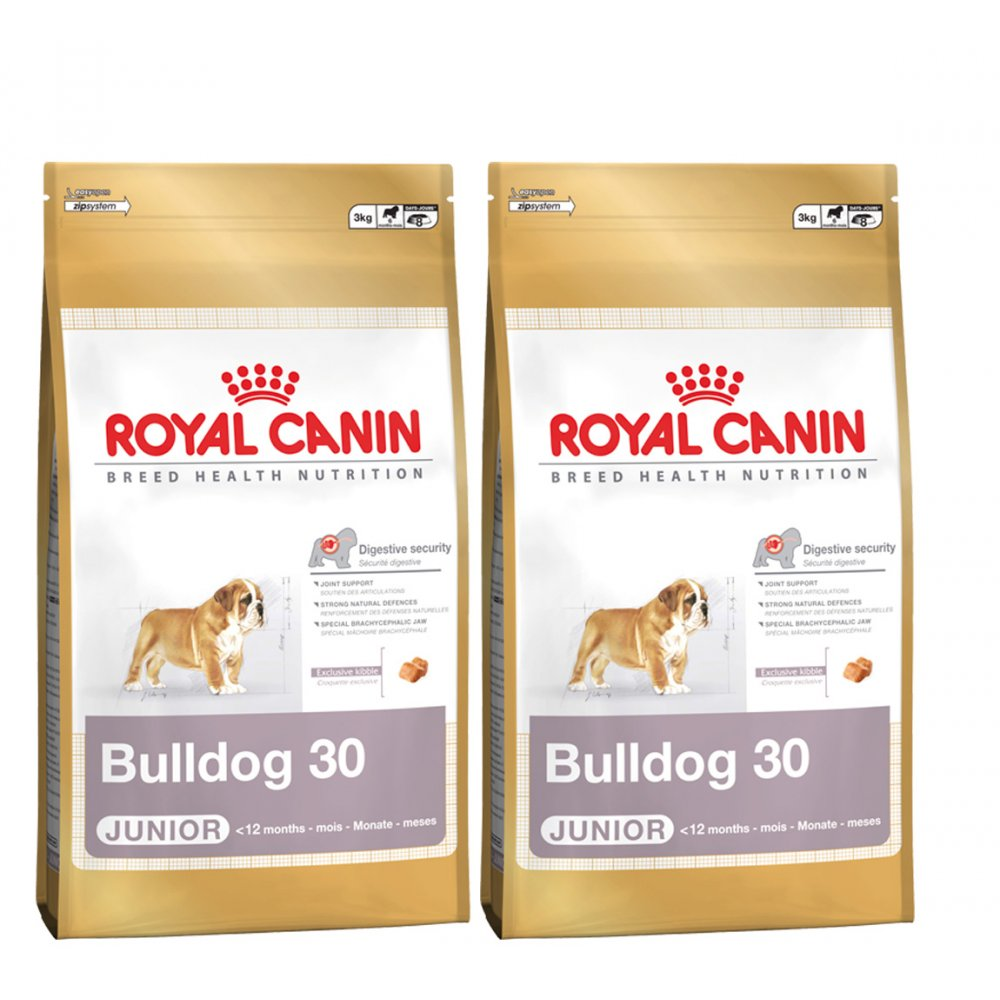 buy royal canin bulldog junior dog food 2 x 12kg. Black Bedroom Furniture Sets. Home Design Ideas
