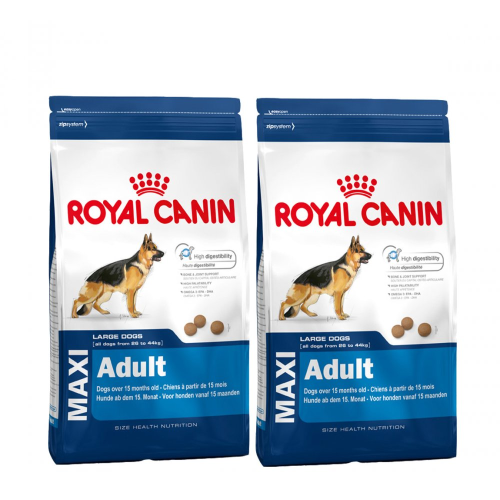 royal canin maxi adult complete dog food 2x15kg feedem. Black Bedroom Furniture Sets. Home Design Ideas