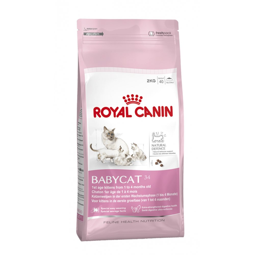 Royal Canin Baby Cat 34 Complete Cat Food 4kg