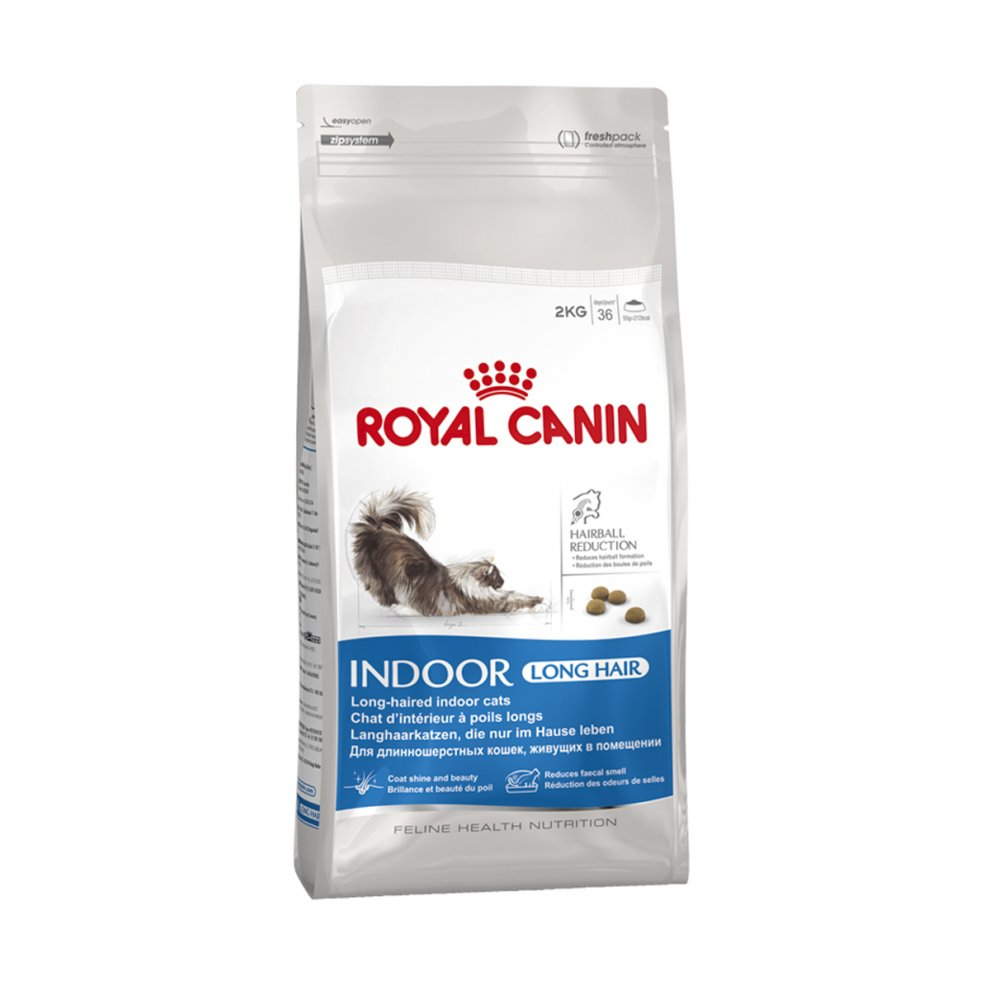 Royal Canin Indoor Long Hair 35 Cat Food 2kg