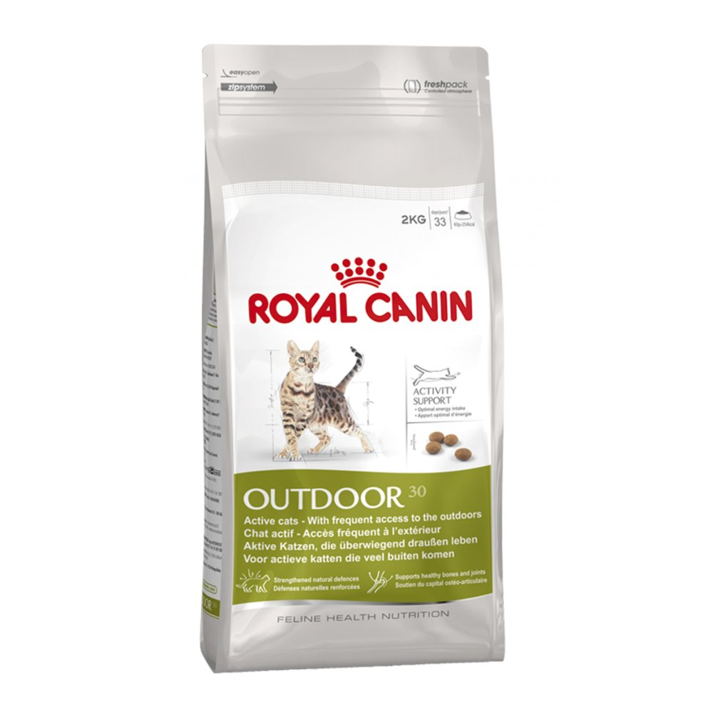 Royal Canin Outdoor 30 Complete Cat Food 4kg