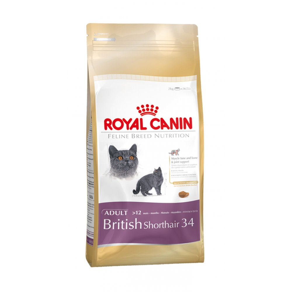 Royal Canin British Shorthair Food 34 - 4kg