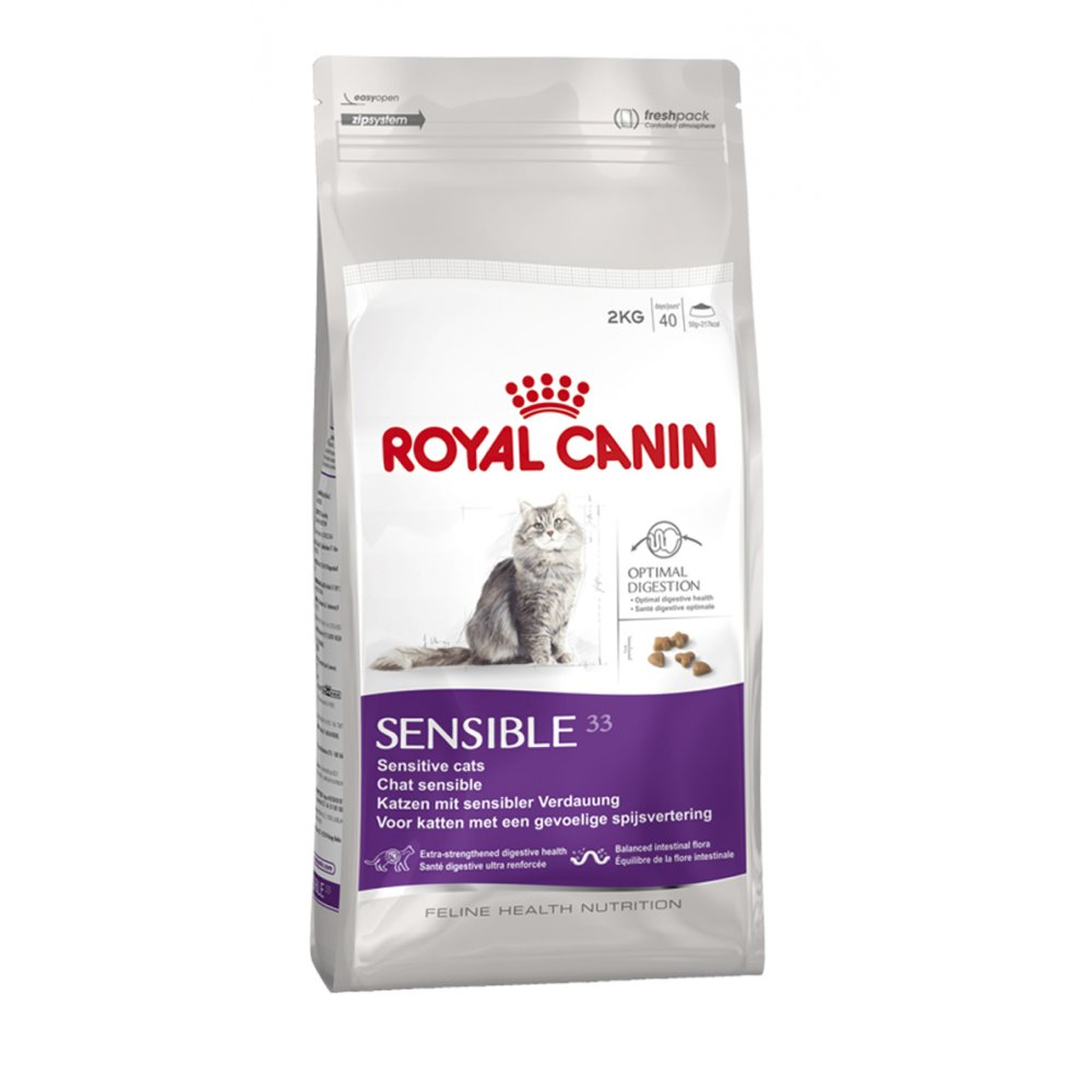 royal canin sensible 33 cat food 10kg feedem. Black Bedroom Furniture Sets. Home Design Ideas