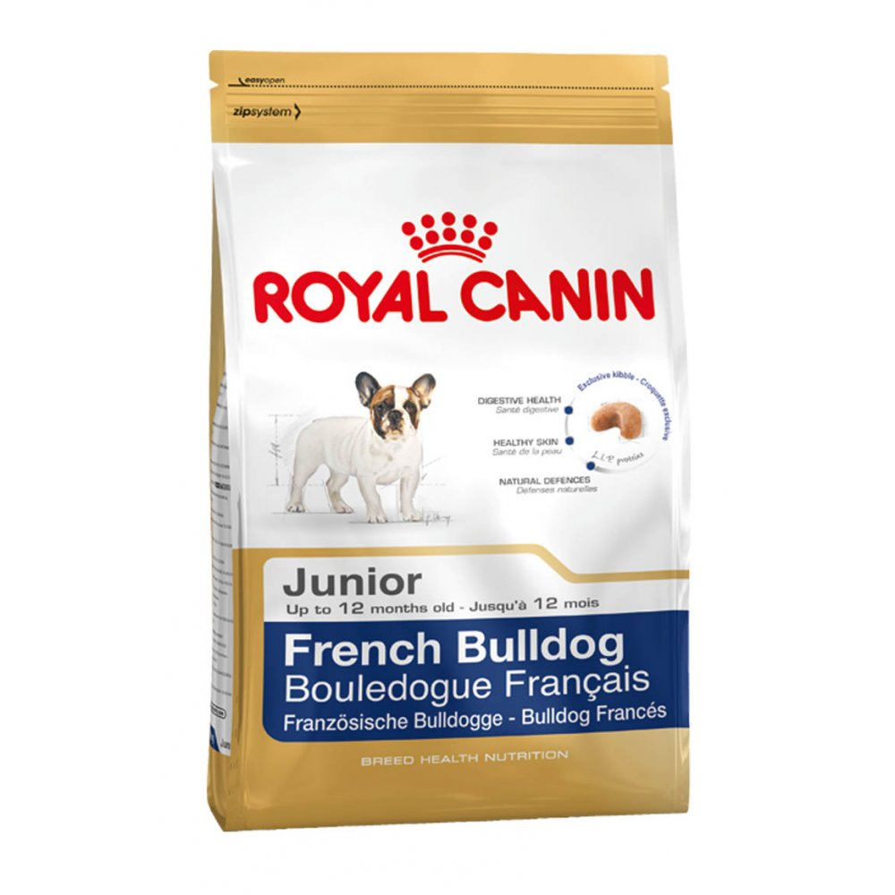 royal canin french bulldog junior dog food 3kg feedem. Black Bedroom Furniture Sets. Home Design Ideas