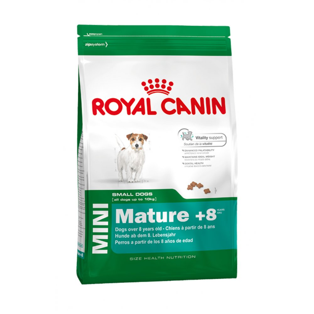 buy royal canin mature mini 8 dog food 8kg. Black Bedroom Furniture Sets. Home Design Ideas