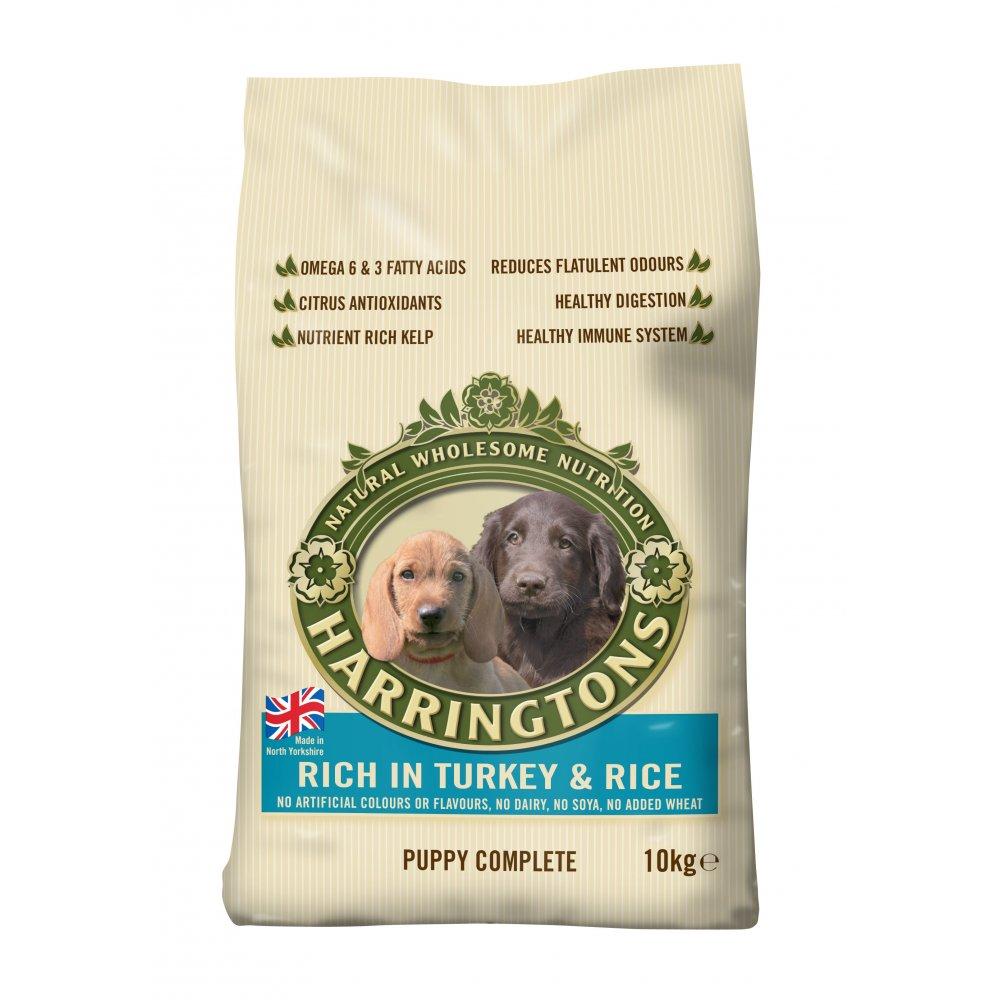 Eukanuba Puppy Food >> Harringtons Complete Puppy Dog Food Turkey & Rice 10kg ...