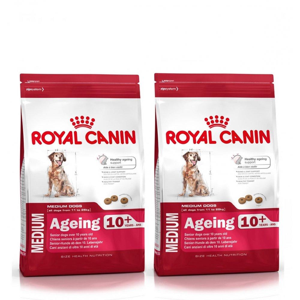 buy royal canin dog adult medium ageing 10 2x15kg. Black Bedroom Furniture Sets. Home Design Ideas