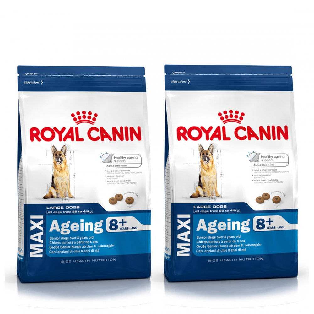 buy royal canin dog adult maxi ageing 8 2 x 15kg. Black Bedroom Furniture Sets. Home Design Ideas