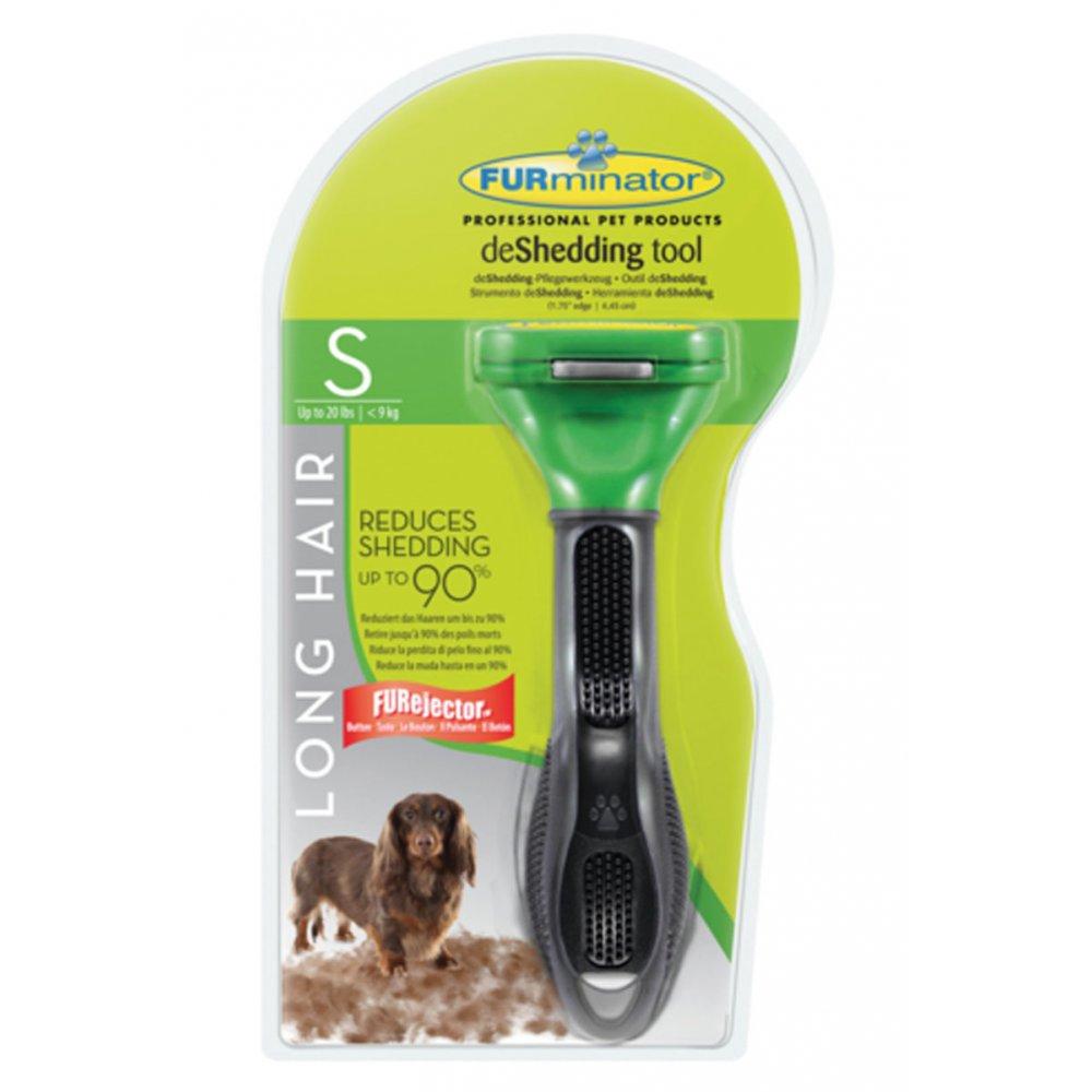 ... & Brushes › Furminator deShedding Tool Long Hair for Small Dogs