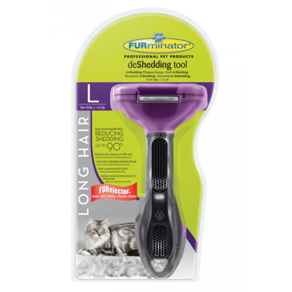 Buy Furminator Deshedding Tool Long Hair For Large Cats