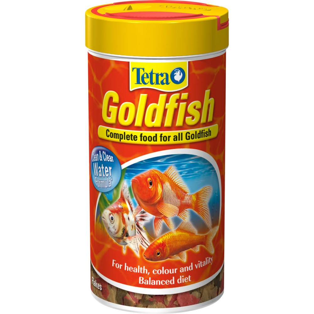 buy tetra goldfish complete flake fish food 52gm