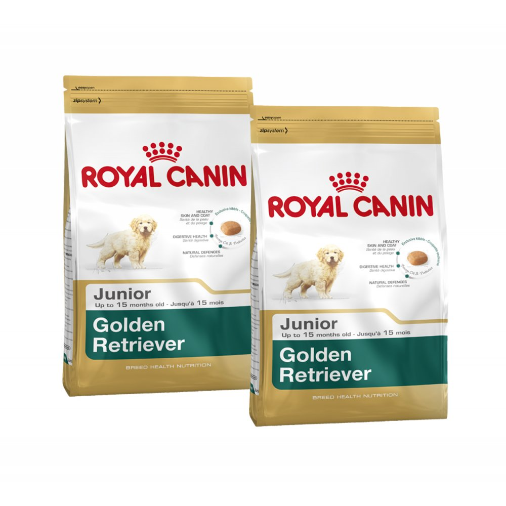 buy royal canin golden retriever junior dog food 2x12kg. Black Bedroom Furniture Sets. Home Design Ideas