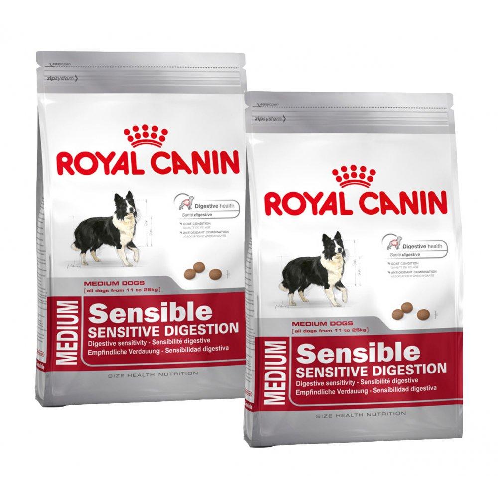 buy royal canin medium sensible adult dog food 2 x 15kg. Black Bedroom Furniture Sets. Home Design Ideas