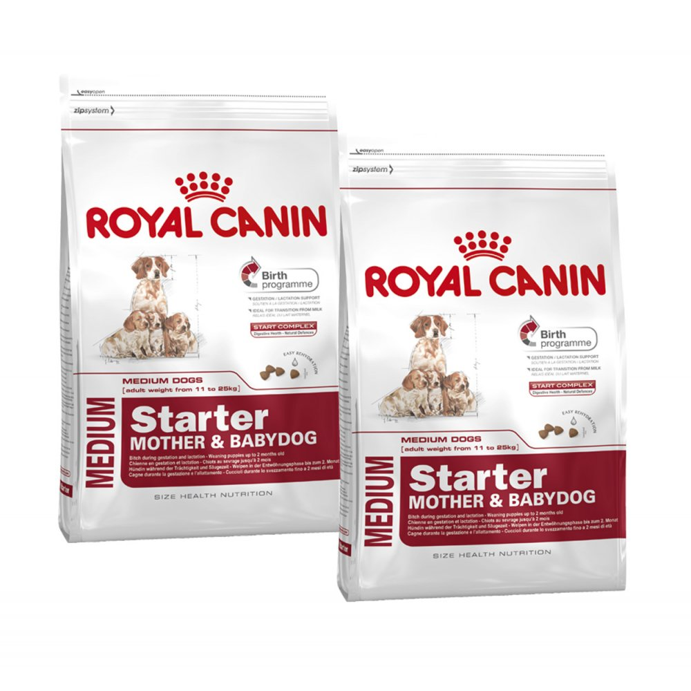 buy royal canin medium starter dog food 2 x 12kg. Black Bedroom Furniture Sets. Home Design Ideas
