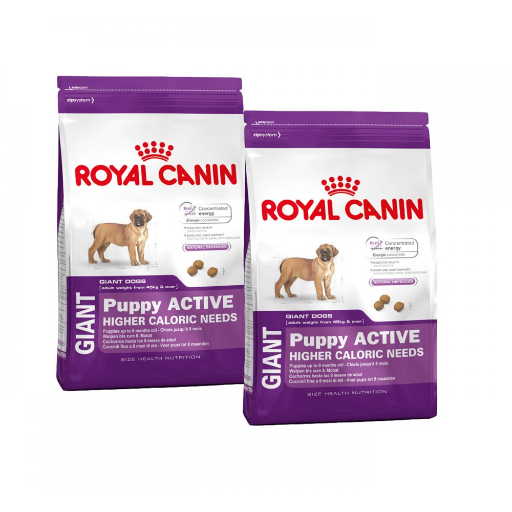 buy royal canin giant puppy active dog food 2 x 15kg. Black Bedroom Furniture Sets. Home Design Ideas