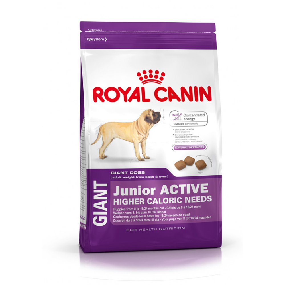 royal canin giant junior active dog food 15kg feedem. Black Bedroom Furniture Sets. Home Design Ideas