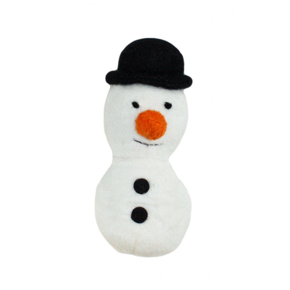 buy happypet festive refillable catnip snowman cat toy. Black Bedroom Furniture Sets. Home Design Ideas