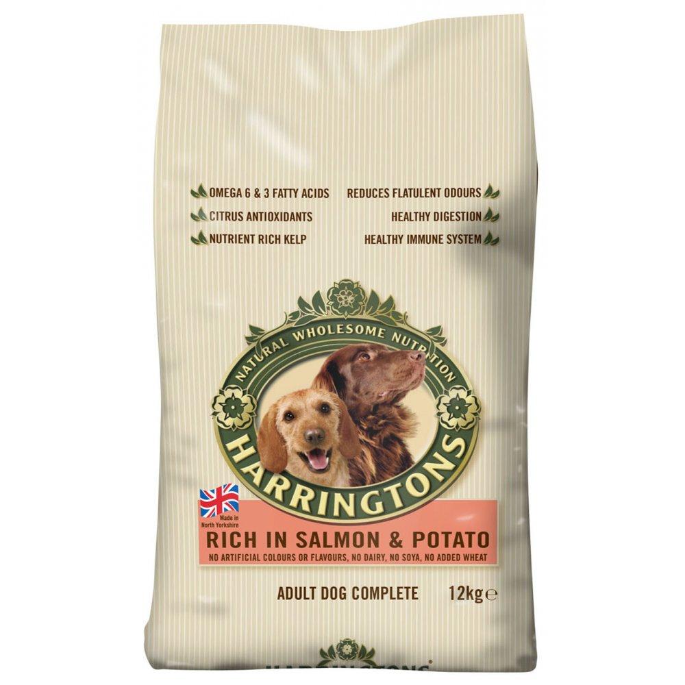 Harringtons Salmon Potato Dog Food