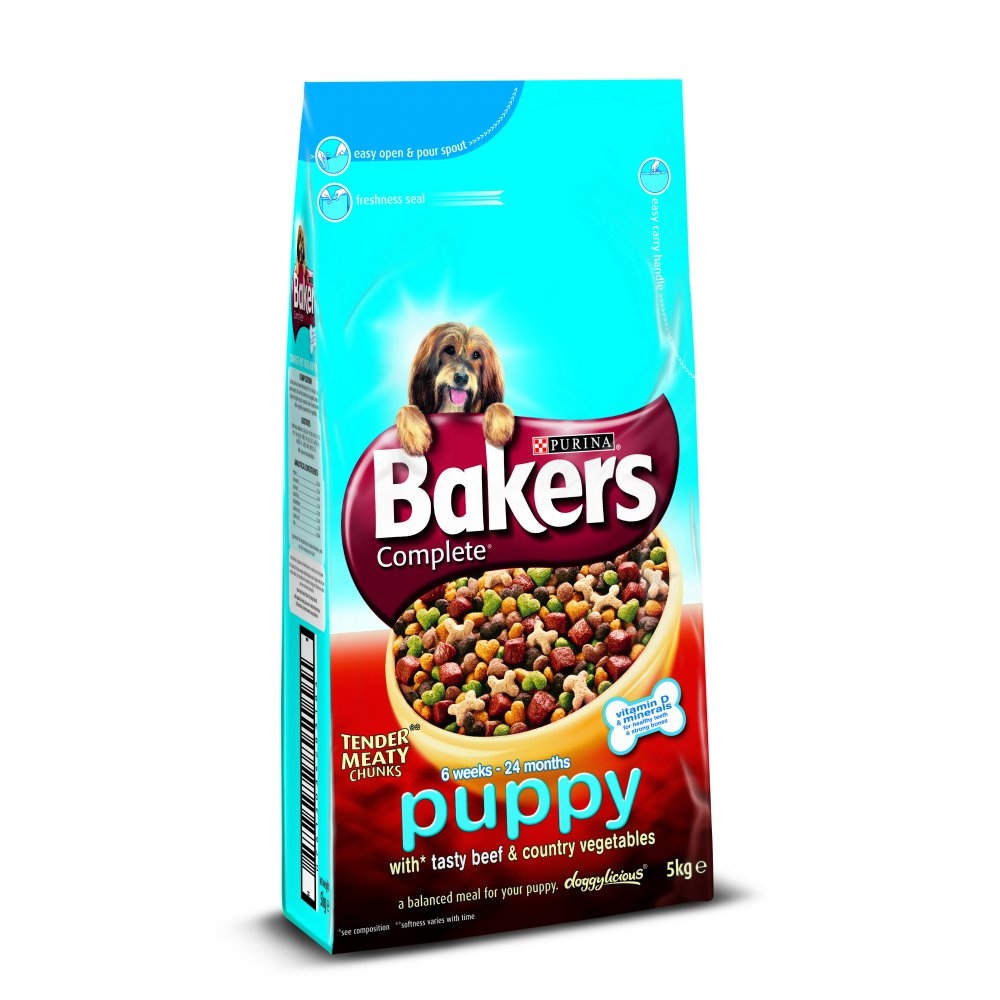 Bakers Puppy Dog Food