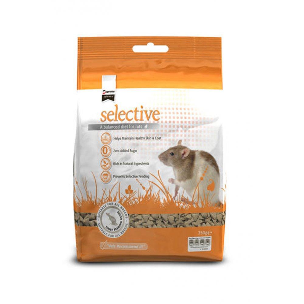 Supreme selective complete rat food 350gm feedem for Cuisines completes
