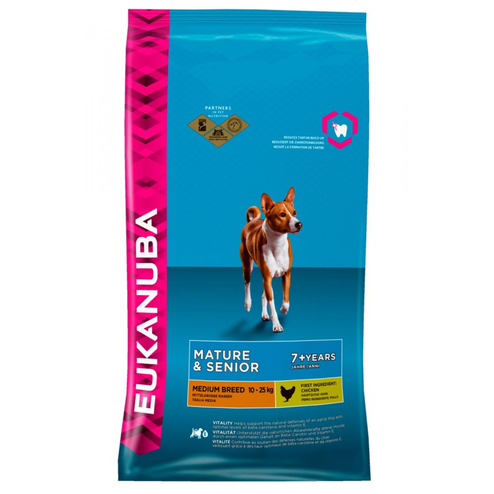 Eukanuba Medium Breed Mature And Senior Dog Food