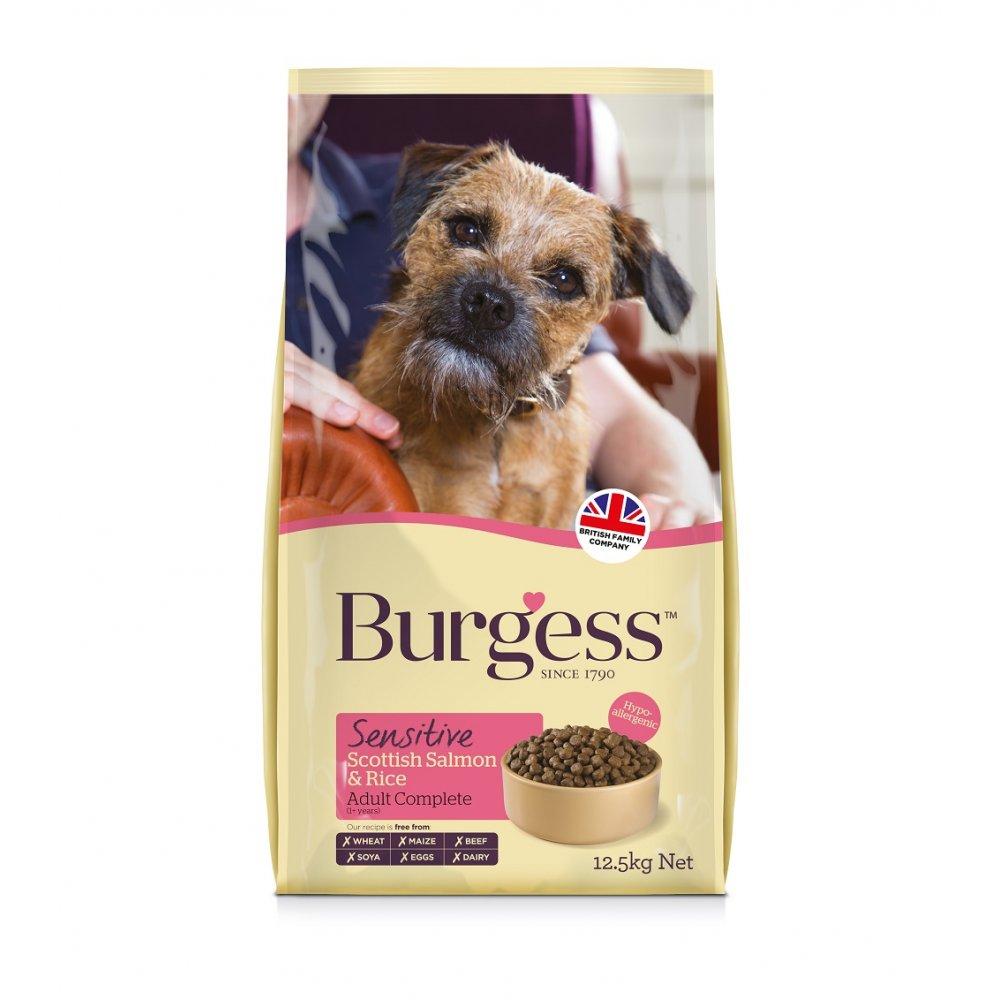 Burgess Sensitive Salmon And Rice Dog Food