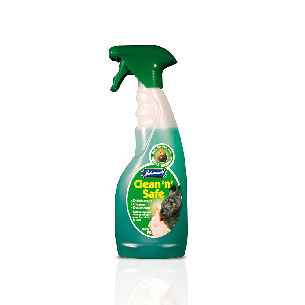 Johnsons Clean N Safe Disinfectant Spray Small Animals