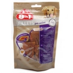 Chicken Fillets Pro Active Dog Treat Small