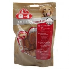 Chicken Fillets Pro Skin & Coat Dog Treat Small