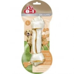 Delights Rawhide Dog Chew Bone Large.